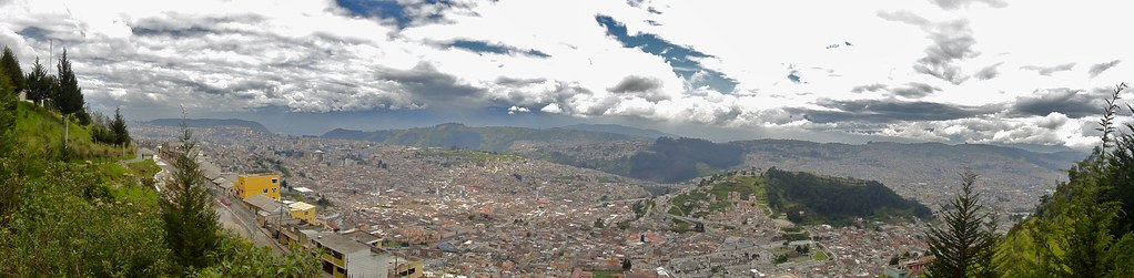 Panoramic View of Quito