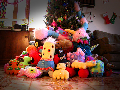 monsters under the tree