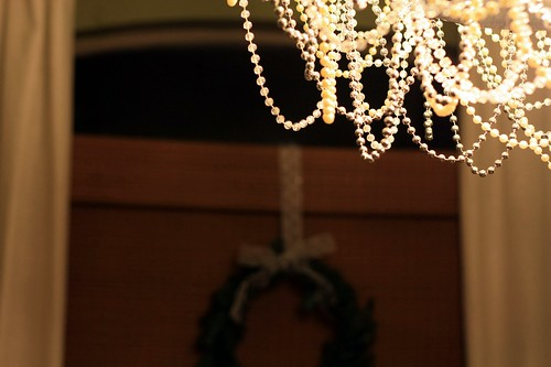 beads + wreath