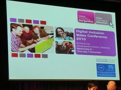 Digital Inclusion Wales conference 2010 (2) (roygbiv1) Tags: swansea wales digital race radio event online conference 20 communities able disability inclusion