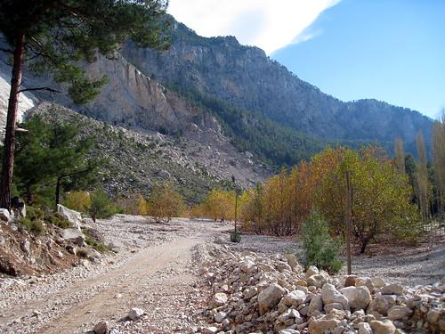 Autumn scene on Lycian Way