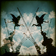 piccadilly circus (fotobananas) Tags: london pen circus piccadilly olympus eros explore ep1 explored fotobananas