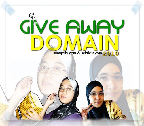Giveaway Domain dari Sumijelly & Sekilass