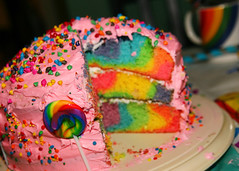 inside (stOOpidgErL) Tags: birthday pink party food baby girl cake rainbow colorful candy 1st sweet sprinkles mug lollipop frosting sucker 1stbirthday layercake pinkfrosting stoopidgerl rainbowchocolatechips chloepearl