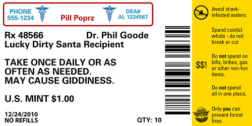 Viagra prescription label