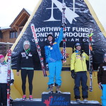 Georgia Simmerling (Grouse Tyee Ski Club) finishes 2nd in 2010 Lake Louise Nor-Am Downhill
