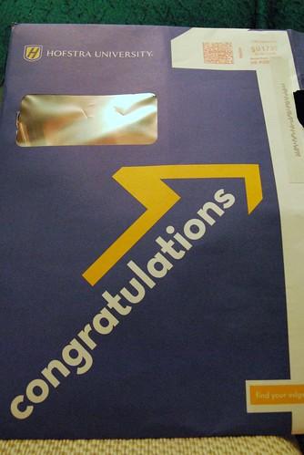 letter envelope. Acceptance Letter Envelope