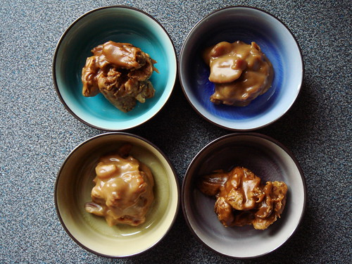 Classic And Bacon Pecan Pralines