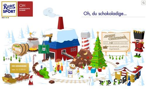 RITTER SPORT Weihnachtszauber
