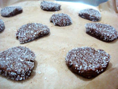 gingersnaps dough