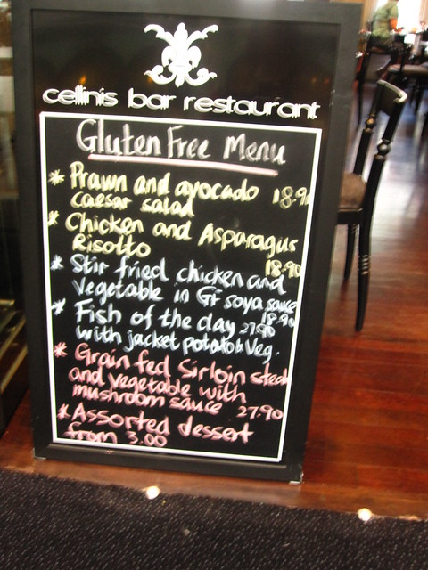a whole gluten free menu for @plouay
