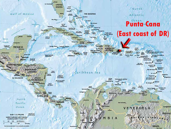 Punta Cana Location On World Map.The World S Best Photos By Punta Cana Milos Flickr Hive Mind