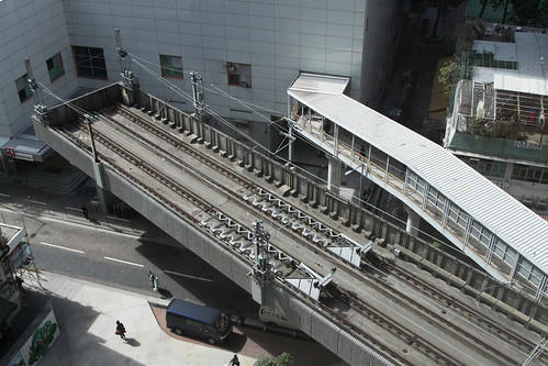Overrun tracks at Chai Wan