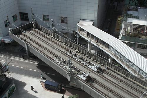Overrun tracks at Chai Wan