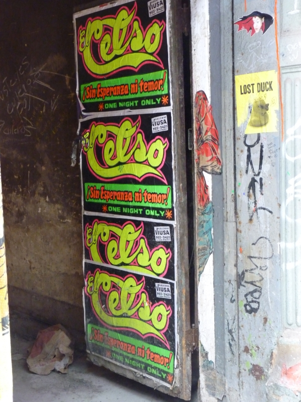 El Celso and the Soho Lurker