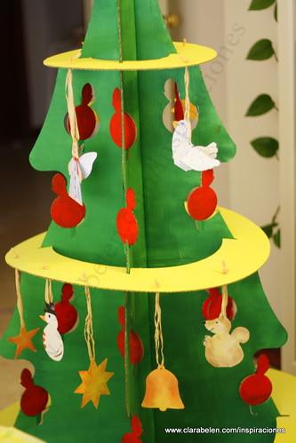 navideas para nios rbol de navidad grande recortable de cartn comprado en dideco