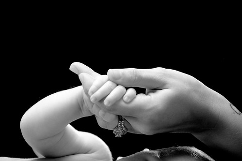 little hand...
