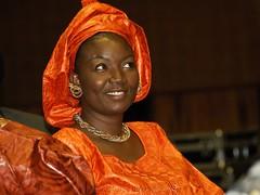 Colourful Audience II (Makgobokgobo) Tags: africa portrait people music concert serena uganda kampala keita salifkeita serenahotel qwela