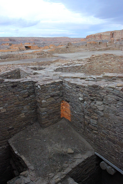 Winter Solstice Marker at Pueblo Bonito in Chaco Culture National Historic Park