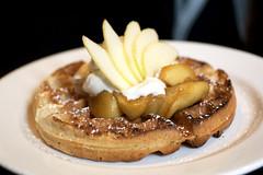 polenta waffle @ locanda verde