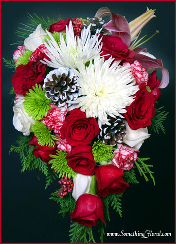 Christmas-Bridal-Bouquet