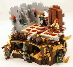 Closet (Bart De Dobbelaer) Tags: loo castle lady closet lego fantasy vignette minion witchsquest