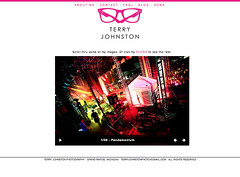 Terry Johnston Photography (TerryJohnston) Tags: flickr screengrab website screencap brand branding newsite pinkglasses indentity terryjohnston terryjohnstonphotography terryjohnstonphotocom designedbytommyvaldez