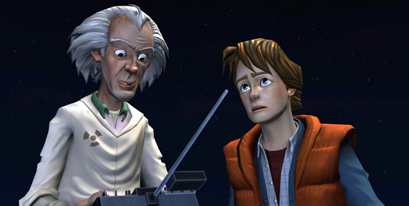 Doc and Marty Back to the Future The Game