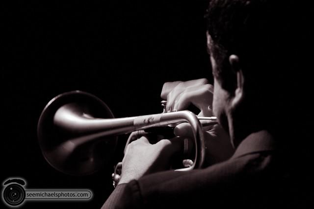 Jason Robinson Quintet at Dizzy's 121810 © Michael Klayman-018