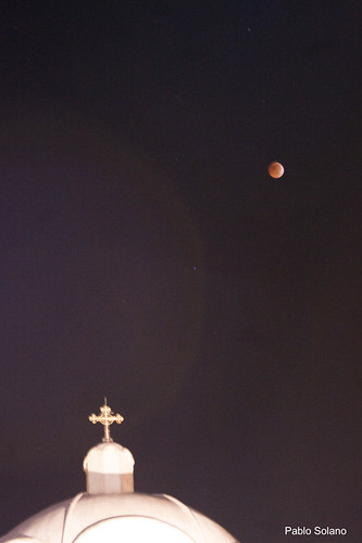 Eclipse Total de Luna desde Cartago, Pablo Solano