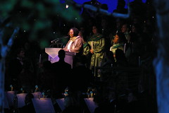Whoopi Goldberg at Candlelight Processional: Dec. 10, 2010 (Mike Wacht Photography) Tags: christmas music holiday choir night star whoopi goldberg orlando epcot pentax florida disney actress narrator candlelightprocessional k100dsuper photobymikewacht