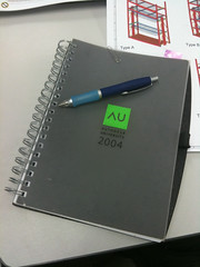 Finished the AU2004 notebook