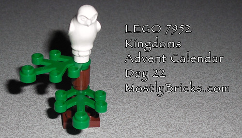 LEGO 7952 Kingdoms Advent Calendar Day 22