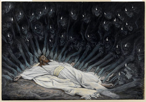 018-Jesus asistido por los angeles- 1886-1894- James Tissot-Copyright © 2004–2010 the Brooklyn Museum