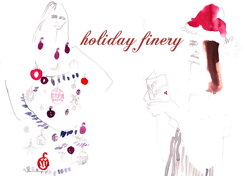 holiday scribbles