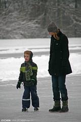 Skating / Schaatsen (Jochem van de Weg) Tags: winter snow holland ice netherlands sneeuw skating nederland skate hoogeveen drenthe schaatsen schaats