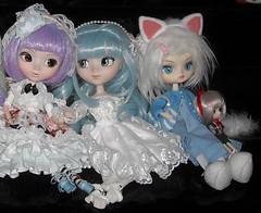 DSCN35390_Pullip_Dal_details (applecandy spica) Tags: christmas holiday cat doll dal gift swap present pullip humpty dumpty custom tezca