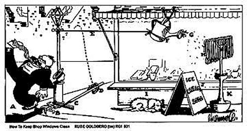 Comics Legend Rube Goldberg