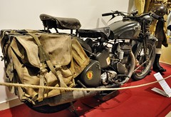 "BSA M20 ""Ilonka"" (1942) (The Adventurous Eye) Tags: history motorcycle technicalmuseum classicmotorcycle bsa bsam20 technickmuzeumbrno"