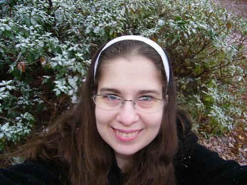 Me - Snowing again OMG
