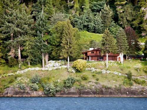 House on the Shores of Lago Todos Los Santos, Chile by katiemetz, on Flickr
