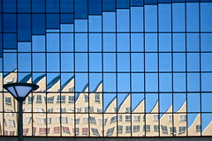 Prins Bernhardlaan (joyrex) Tags: reflection building window mirror nederland thenetherlands voorburg