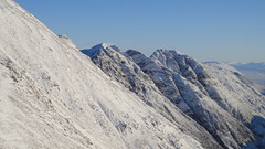 The Aonach Eagach (wheelsy1) Tags: snow walking scotland glencoe scramble scrambling lochaber calluna aonacheagach wintermountaineering sgorrnamfiannaidh clachaiggully alankimber spikesellers coireantsidhein