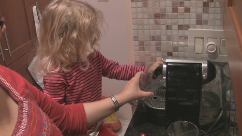 Violet Makes The Coffee