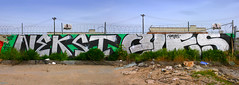 Nekst, Ques (funkandjazz) Tags: sanfrancisco california graffiti qs dts pcf neves nekst ques ptb btm
