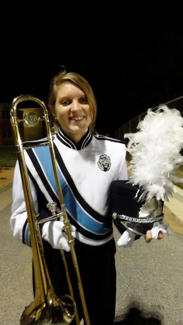 Junior trombonist