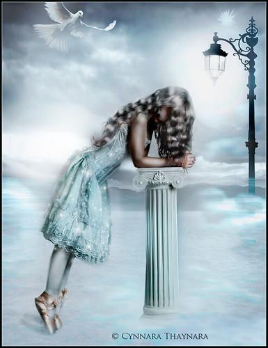 The sad dancer of ballet          -   Happy 2011  to Jéssica Volturi