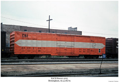 EACH Boxcar 4105 (Robert W. Thomson) Tags: railroad train birmingham alabama railway trains railcar traincar boxcar each rollingstock eastcamdenhighland