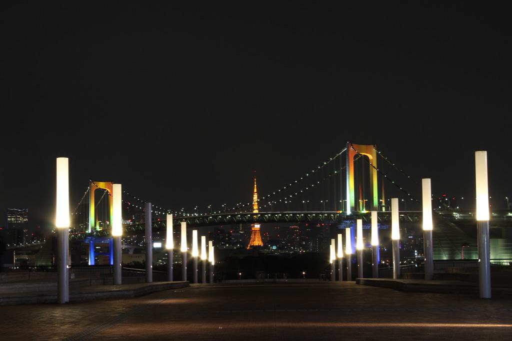 Rainbow bridge illumination 13(TOKYO)