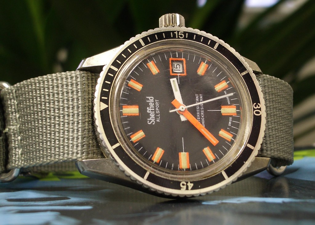 Sheffield Diver's Watch